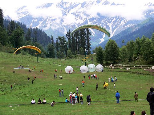 Golden Triangle Tour with Shimla & Manali