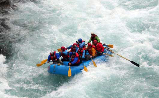India Wildlife and Water Rafting Tour
